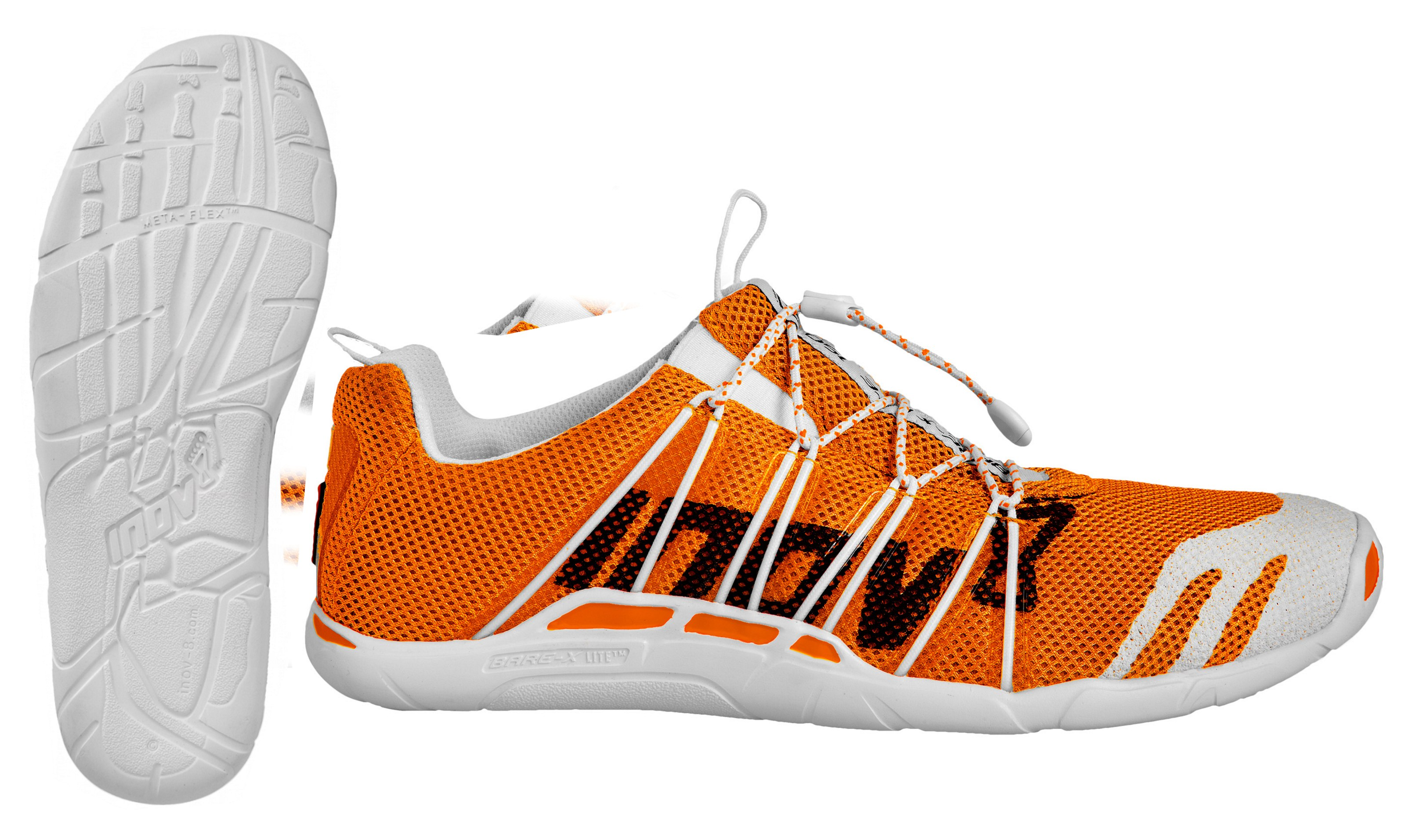 55a61328 Высокотехнологичная легкая (150 г) модель фирмы INOV8. Быстрая система  шнуровки идеальна для соревнований. Верх из эластичной 3D сетки  обеспечивает плотную ...